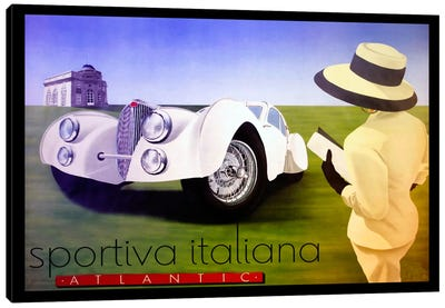 sportiva Canvas Art Print