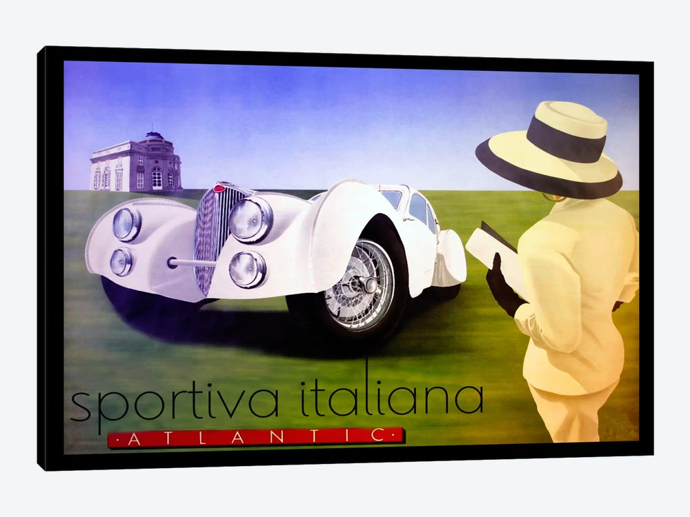 sportiva by Vintage Apple Collection 1-piece Art Print