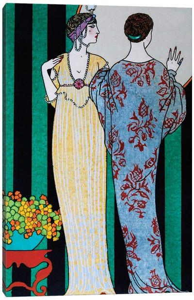 Barbier II Fashion Plaits Canvas Print #VAC1284