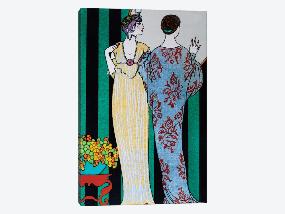 Barbier II Fashion Plaits by Vintage Apple Collection 1-piece Canvas Art Print
