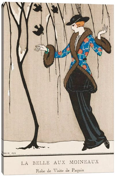 Paquin Dress Canvas Print #VAC1289