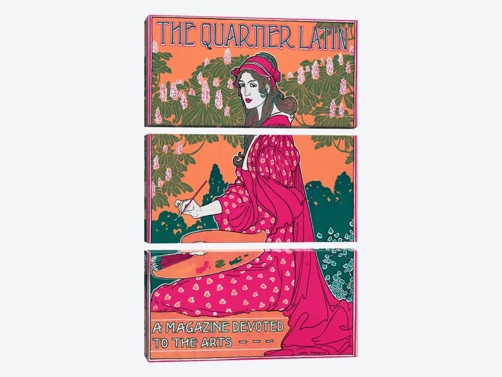 The Quartier by Vintage Apple Collection 3-piece Canvas Art