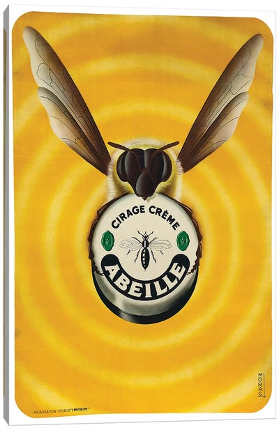 Abeille Canvas Art Print