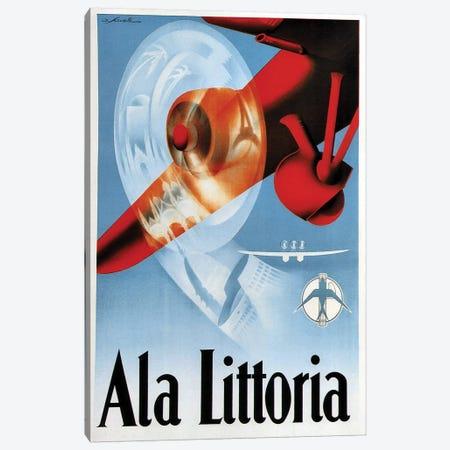 Ala Littoria Canvas Print #VAC1311} by Vintage Apple Collection Canvas Art Print