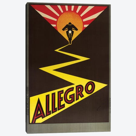 Allegro Canvas Print #VAC1317} by Vintage Apple Collection Canvas Art