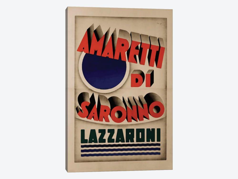 Amaretti di Saronno, Lazzaroni by Vintage Apple Collection 1-piece Canvas Print