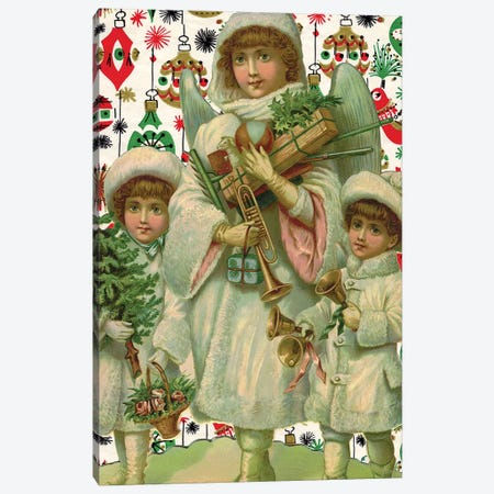 Angels Canvas Print #VAC1325} by Vintage Apple Collection Art Print