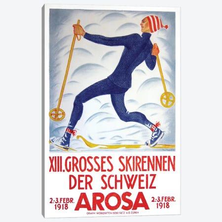 Arosa, 1918 Canvas Print #VAC1334} by Vintage Apple Collection Canvas Artwork