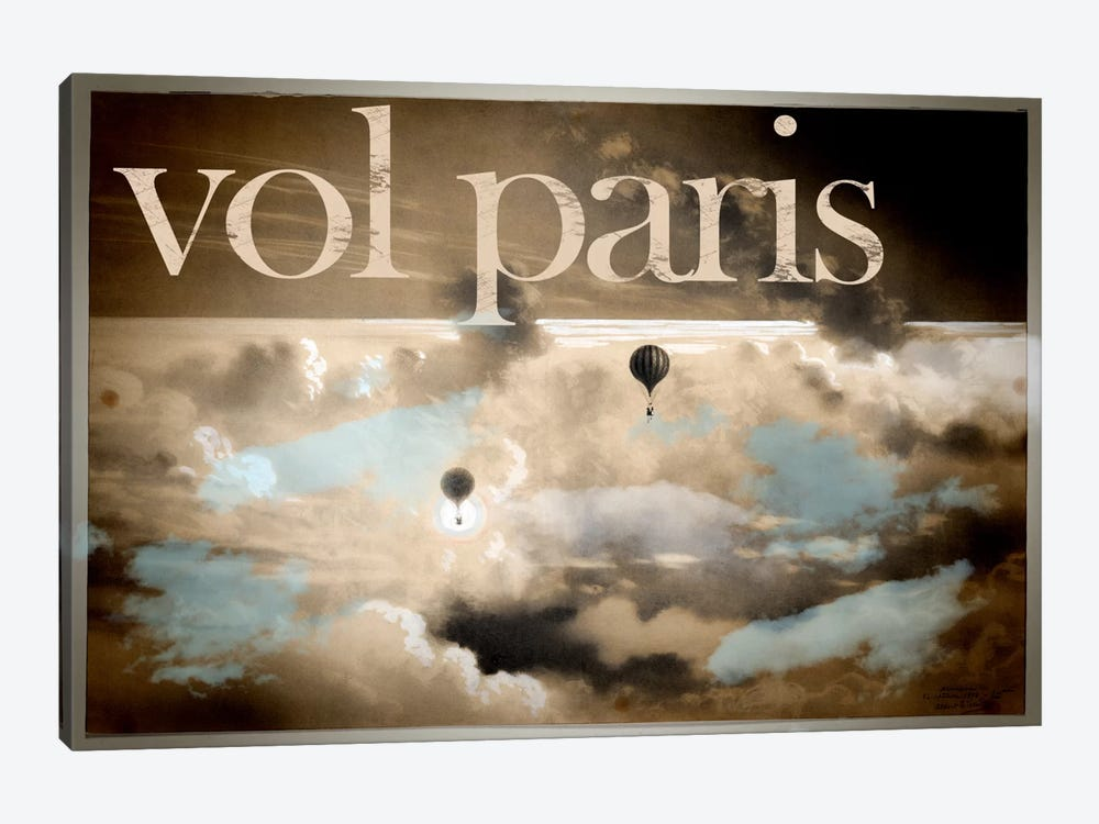 Vol Paris by Vintage Apple Collection 1-piece Canvas Print