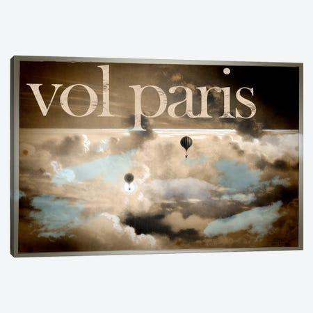 Vol Paris Canvas Print #VAC133} by Vintage Apple Collection Art Print