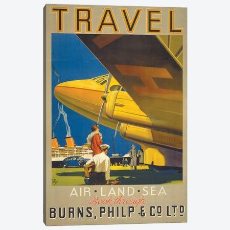 Art Travel Canvas Print #VAC1349} by Vintage Apple Collection Canvas Artwork