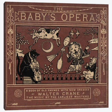 Baby's Opera Canvas Print #VAC1360} by Vintage Apple Collection Canvas Wall Art