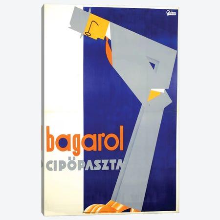 Bagarol Shoes Canvas Print #VAC1362} by Vintage Apple Collection Canvas Artwork