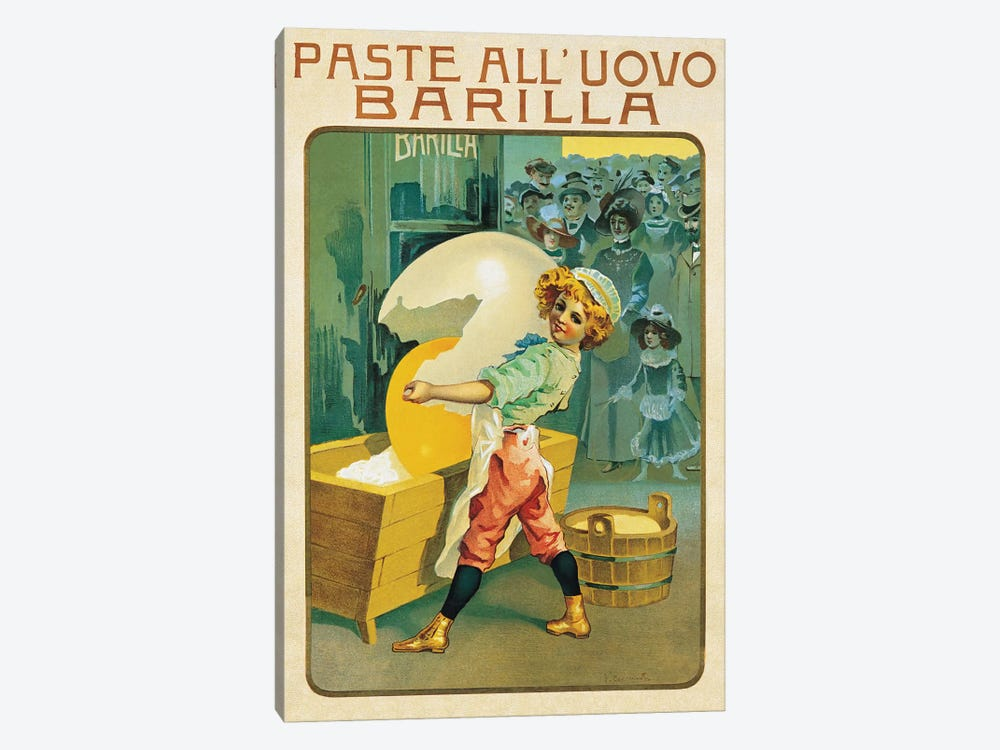 Barilla Pasta by Vintage Apple Collection 1-piece Canvas Art Print