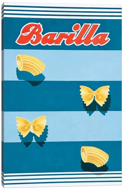 Barilla Pasta Vintage Canvas Art Print