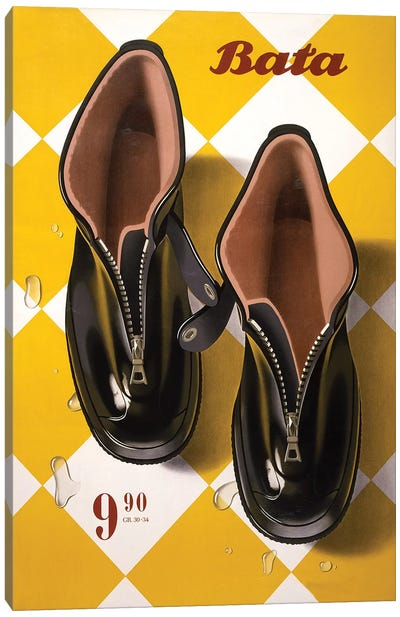 Bata Rubbers Canvas Art Print
