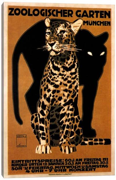 zoo big cats Canvas Art Print