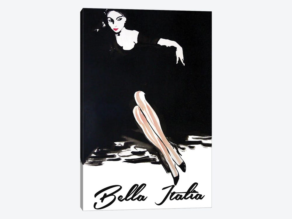 Bella Italia by Vintage Apple Collection 1-piece Canvas Wall Art