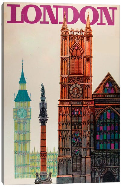 Big Ben Canvas Art Print