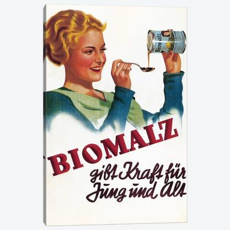 Biomalz Nutritional Supplement Canvas Print #VAC1403} by Vintage Apple Collection Canvas Art Print