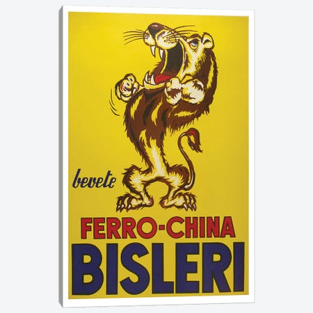 Bisleri Whiskey Canvas Print #VAC1404} by Vintage Apple Collection Canvas Art