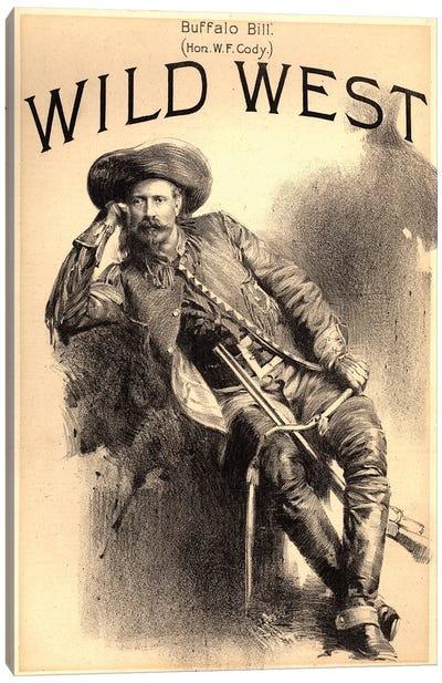 Buffalo Bill Canvas Art Print