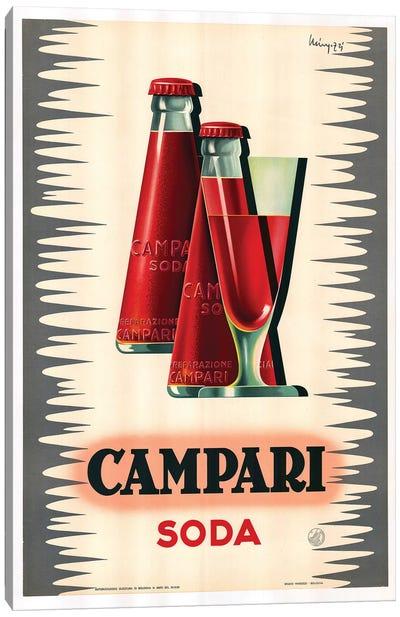 Campari Soda Canvas Art Print