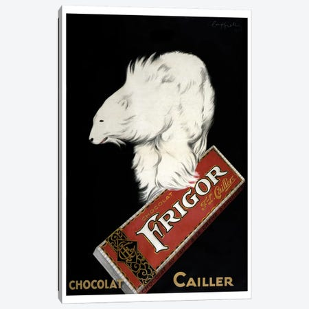 Chocolat Cailler Canvas Print #VAC1461} by Vintage Apple Collection Canvas Print