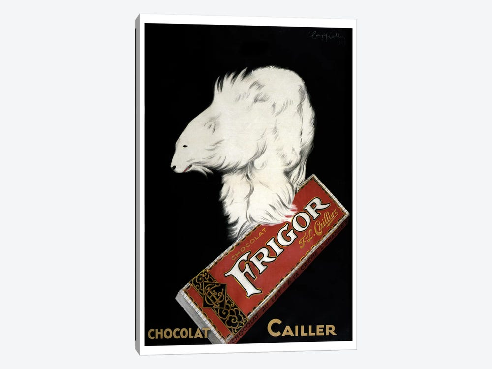 Chocolat Cailler by Vintage Apple Collection 1-piece Canvas Art