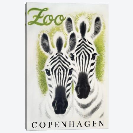 Copenhagen Zoo Canvas Print #VAC1482} by Vintage Apple Collection Canvas Print