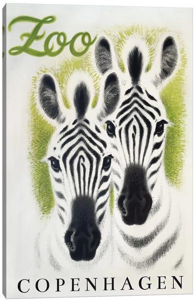 Copenhagen Zoo Canvas Art Print