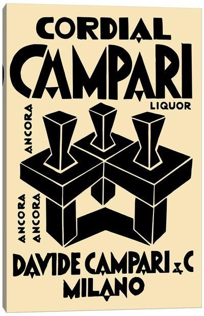 Cordial Campari Liquor Canvas Art Print