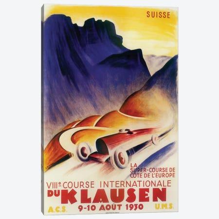 Course Internationale du Klausen, 1930 Canvas Print #VAC1491} by Vintage Apple Collection Canvas Art