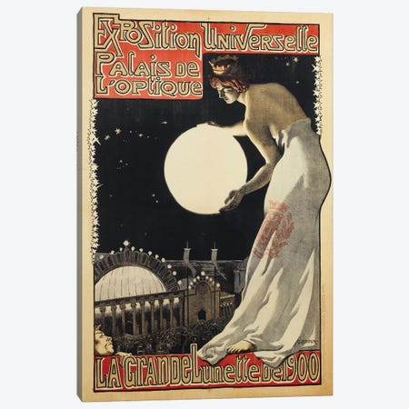 Exposition Universelle Palais de l'Optique, 1900 Canvas Print #VAC1541} by Vintage Apple Collection Canvas Artwork