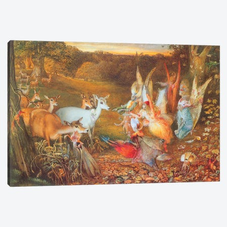 Fairies VI Canvas Print #VAC1549} by Vintage Apple Collection Canvas Artwork