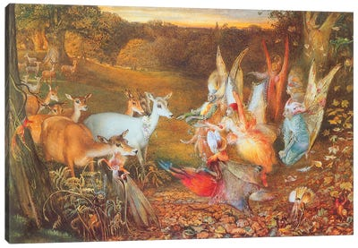 Fairies VI Canvas Art Print