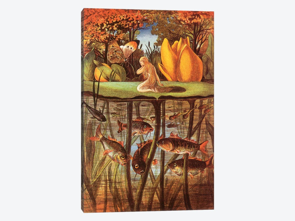 Fairy Tale II by Vintage Apple Collection 1-piece Canvas Print