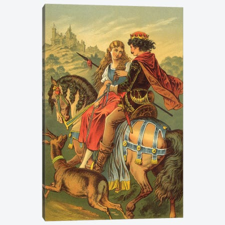 Fairy Tale XIV Canvas Print #VAC1570} by Vintage Apple Collection Canvas Art Print