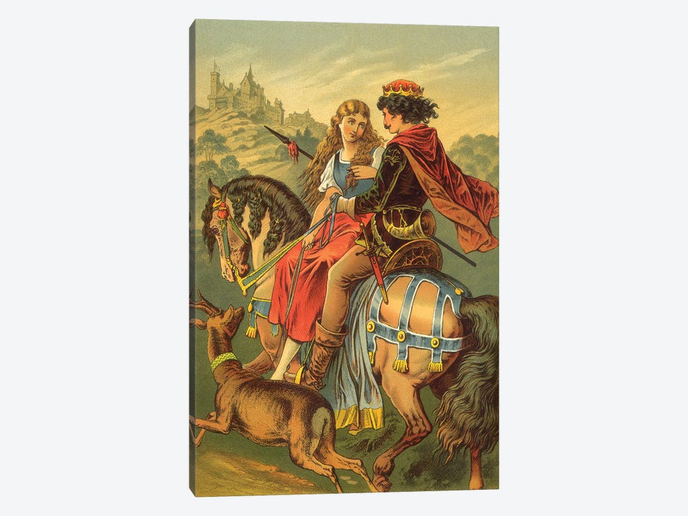 Fairy Tale XIV 1-piece Canvas Print