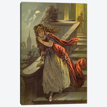Fairy Tale XV Canvas Print #VAC1572} by Vintage Apple Collection Canvas Art Print