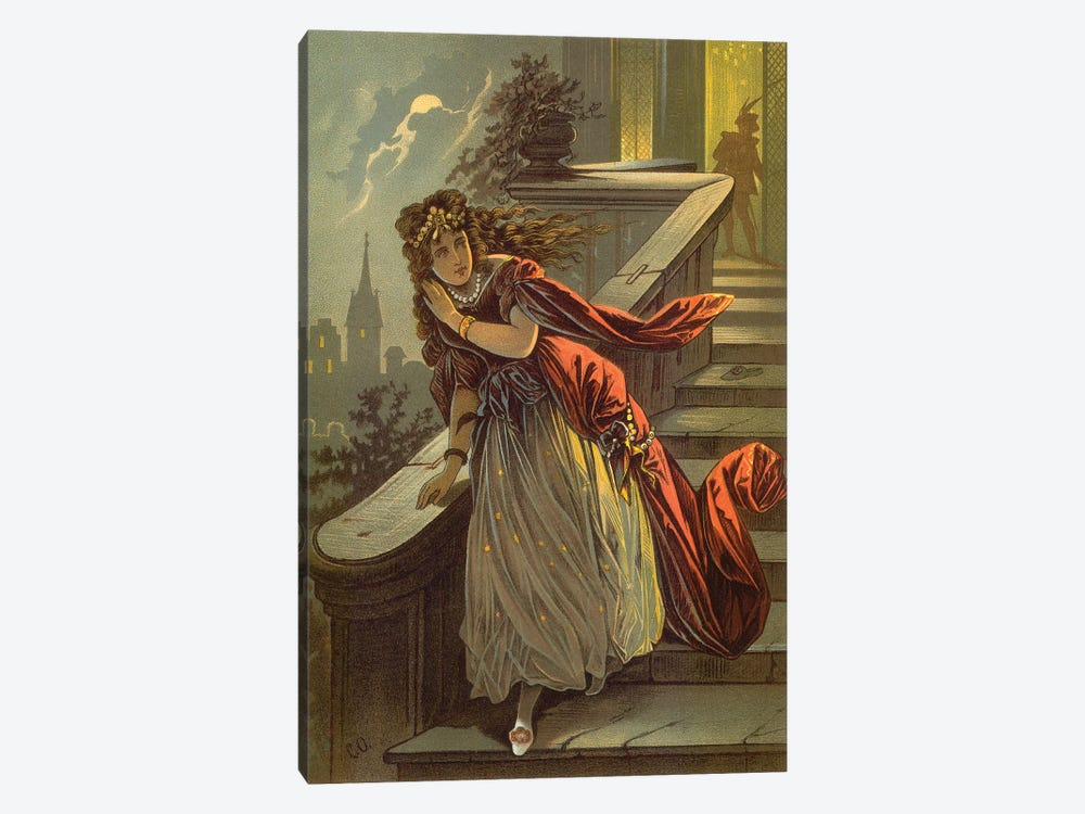 Fairy Tale XV by Vintage Apple Collection 1-piece Canvas Art Print
