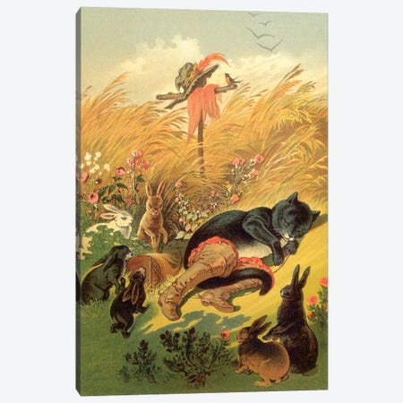 Fairy Tale XVI Canvas Print #VAC1573} by Vintage Apple Collection Canvas Print