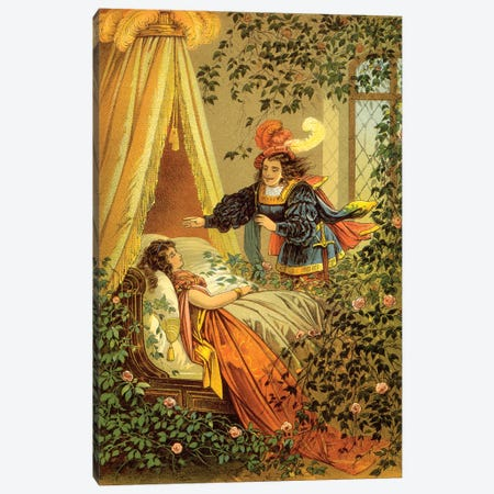 Fairy Tale XVII Canvas Print #VAC1574} by Vintage Apple Collection Canvas Art