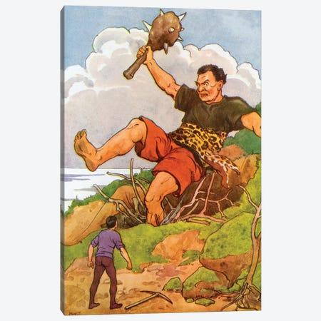 Fairy Tale XVIII Canvas Print #VAC1575} by Vintage Apple Collection Canvas Artwork