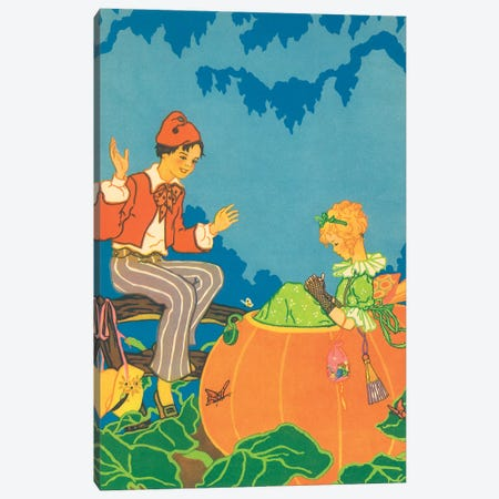 Fairy Tale XXIV Canvas Print #VAC1577} by Vintage Apple Collection Canvas Artwork