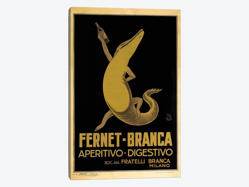 Fernet-Branca, Croc by Vintage Apple Collection 1-piece Art Print