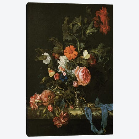 Flowers I Canvas Print #VAC1593} by Vintage Apple Collection Canvas Art Print