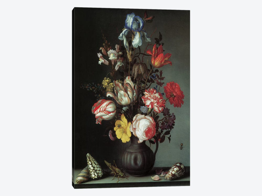 Flowers II by Vintage Apple Collection 1-piece Art Print