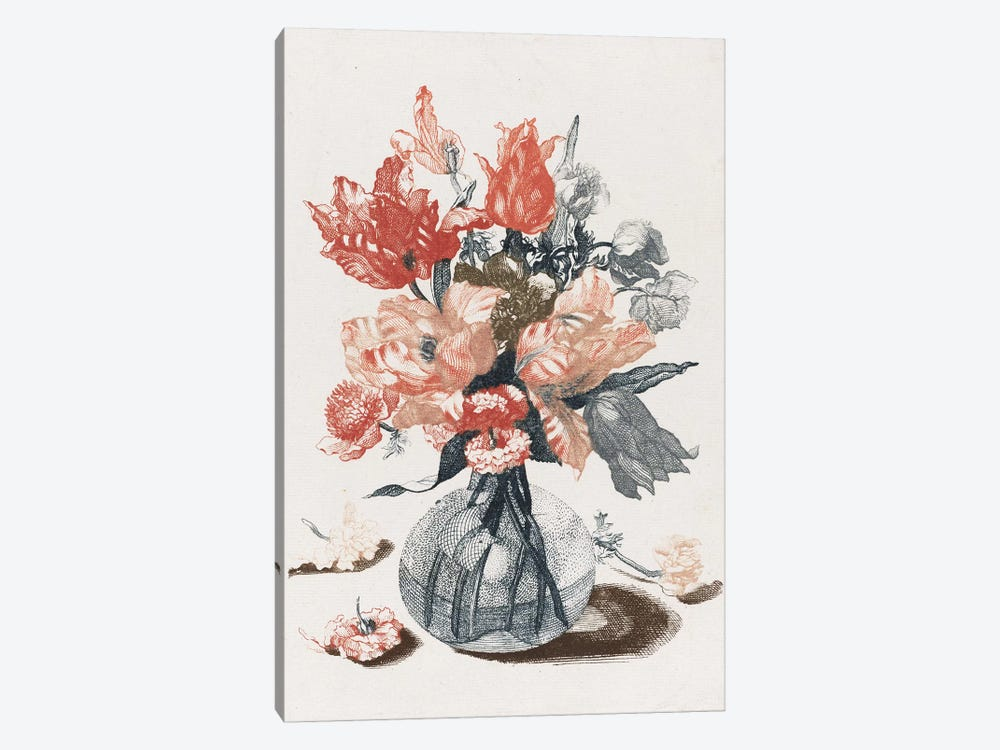 Flowers IV by Vintage Apple Collection 1-piece Canvas Print