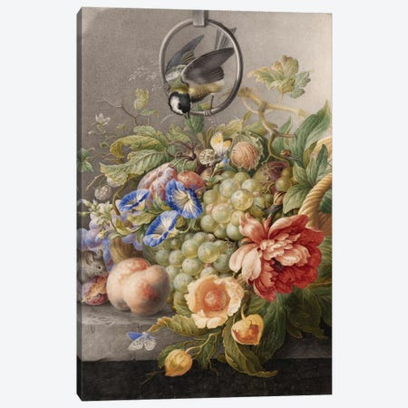 Flowers IX Canvas Print #VAC1597} by Vintage Apple Collection Canvas Art